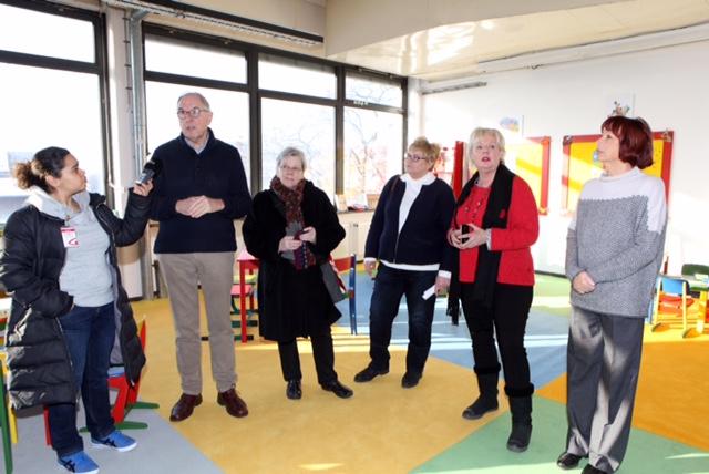 Hermann-Ritter-Strafle 112 Dr. Christoph Hoppensack, Edith Wangenheim, Gisela Boehme, Ulrike Hoevelmann und Ute Wedemeier