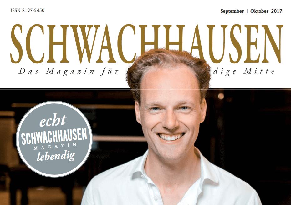 Interview mit Ulrike Hövelmann, BremerLeseLust, Schwachhausen Magazin September Oktober 2017