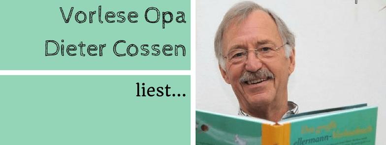 Vorlese-Opa Dieter Cossen liest