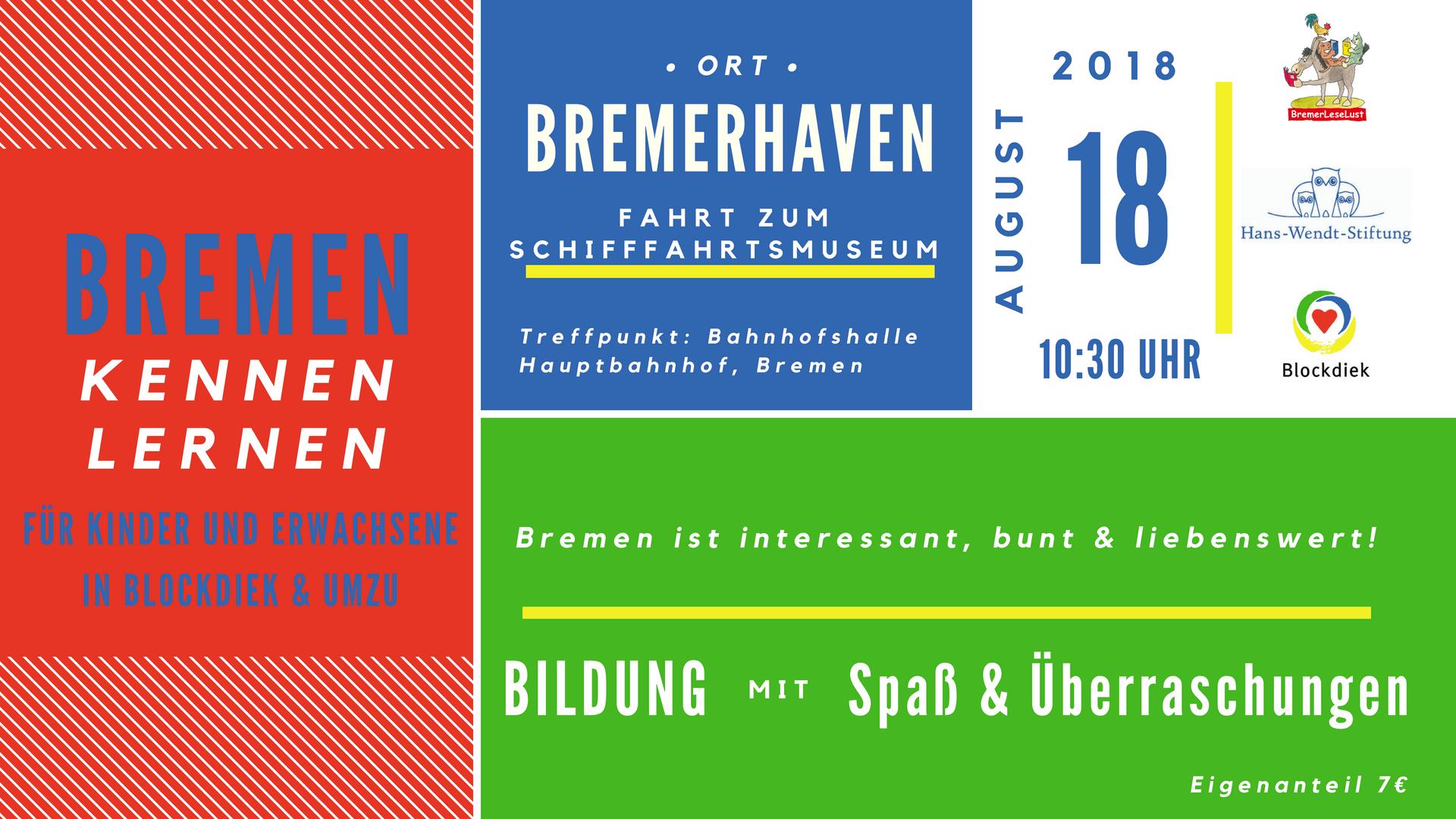 Bremen Kennen Lernen Bremerleselust Bremerhaven