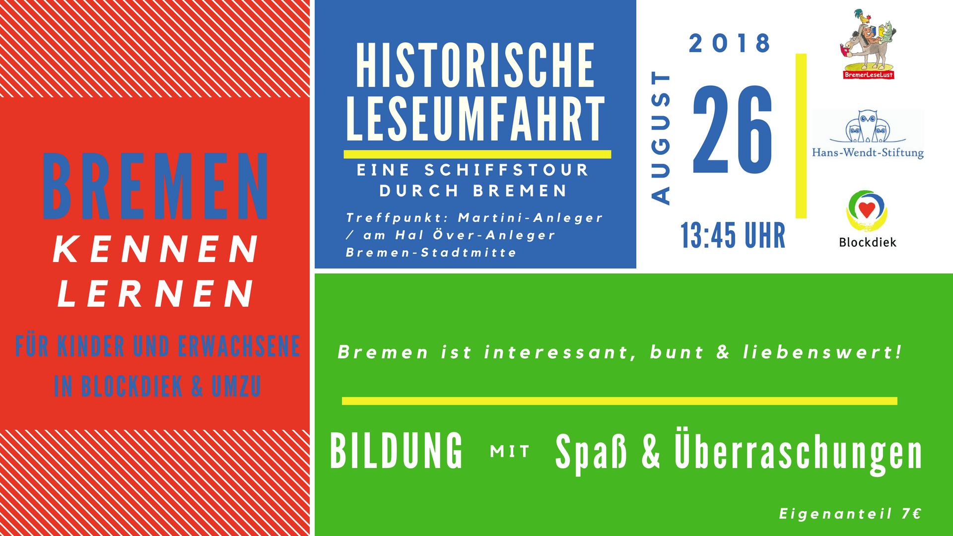 Program Bremen Kennen Lernen August 26