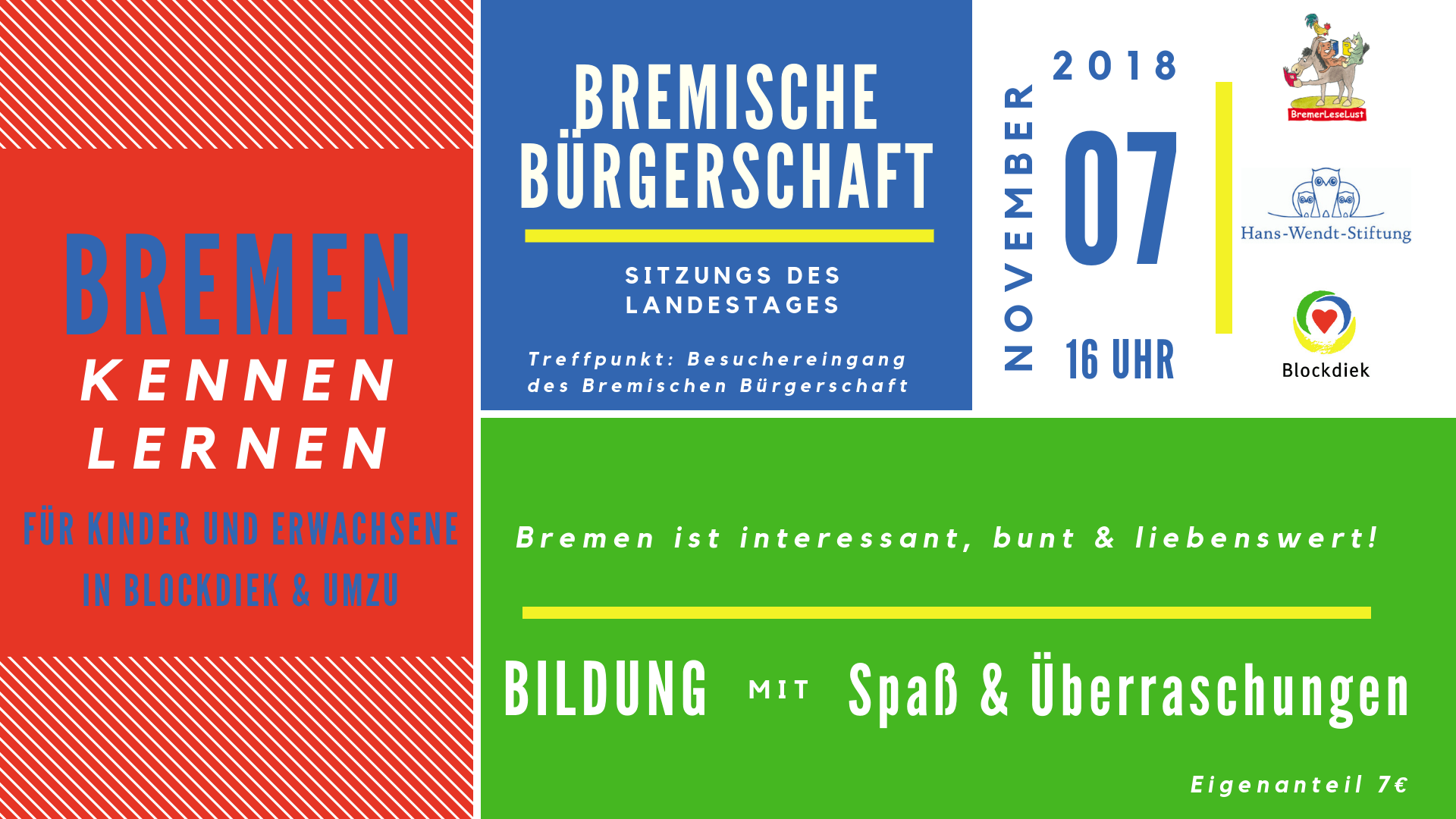 Program Bremen Kennen Lernen November 07 2018
