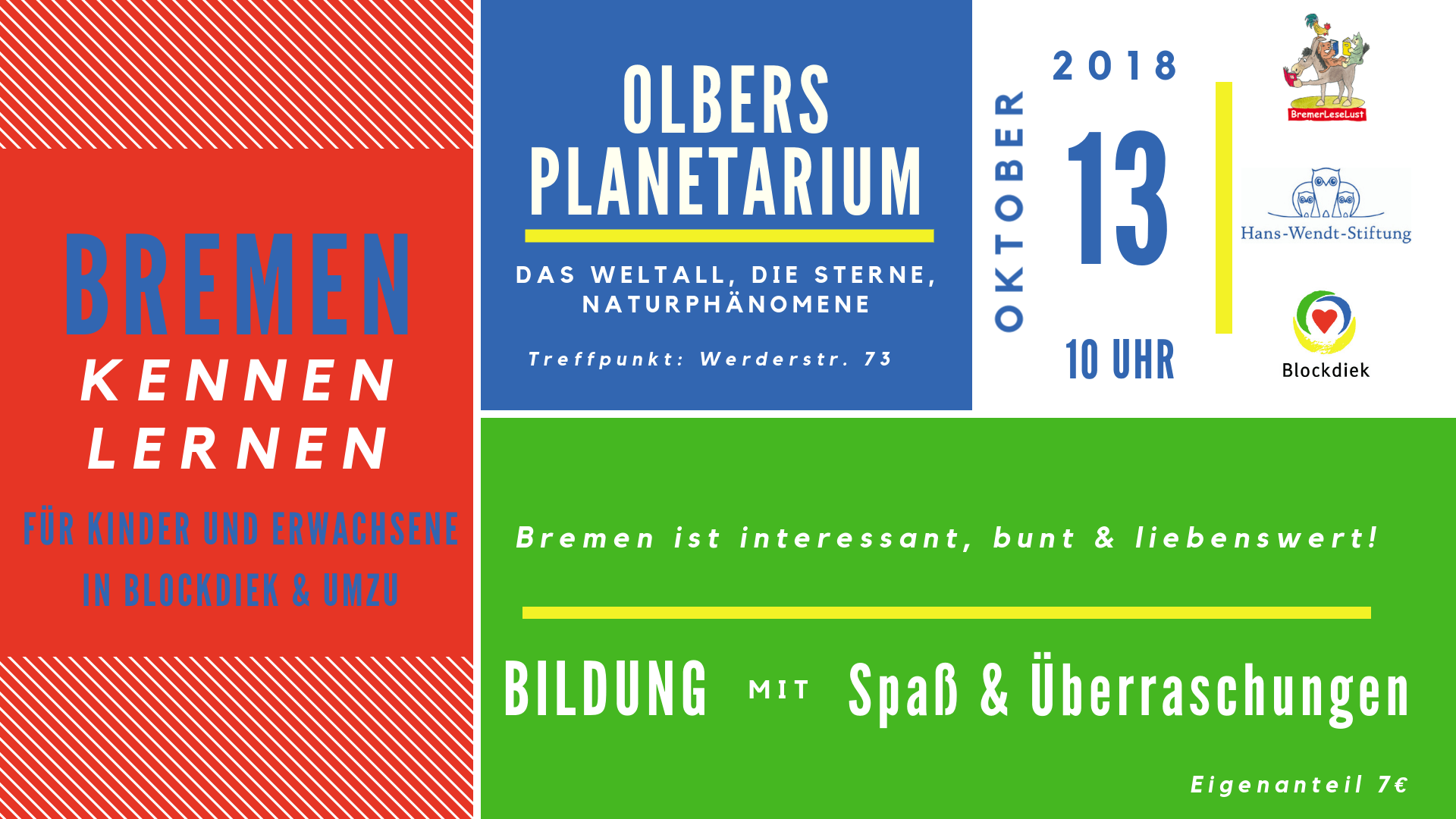 Program Bremen Kennen Lernen Oktober 13