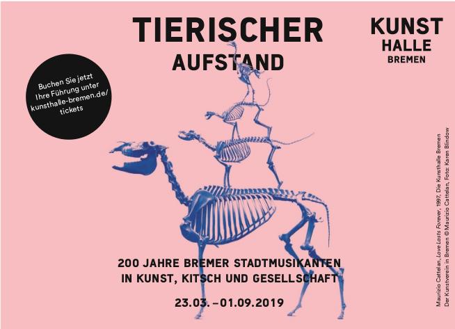 2019 03 30_Anzeige Weser Kurier_Stadtmusikanten_Programm April Poster
